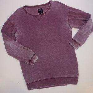 American Eagle Jegging Sweatshirt Maroon Size Med